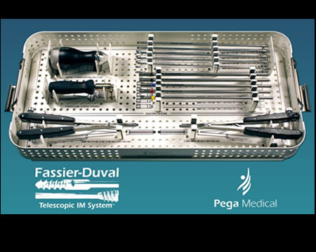 Fassier Duval - Kit for Osteogenesis Imperfecta Tibial nailing